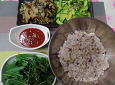 더위를 이겨내는 거뜬한 밥상, 여름채소 보리비빔밥~