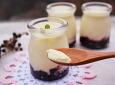 부드러운 맛이 좋은 ~우유푸딩 !