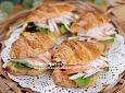 게살이 팍팍~ 크로와상 샌드위치 만들기 : 간단한 간식 만들기