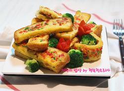 유효기간 다된 식빵 해결법! 부드러운 프렌치토스트