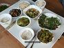 텃밭채소로 만든 건강한 식탁
