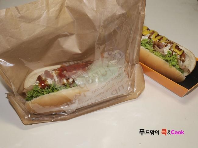 아메리칸 스타일~핫도그 샌드위치 도시락만들기