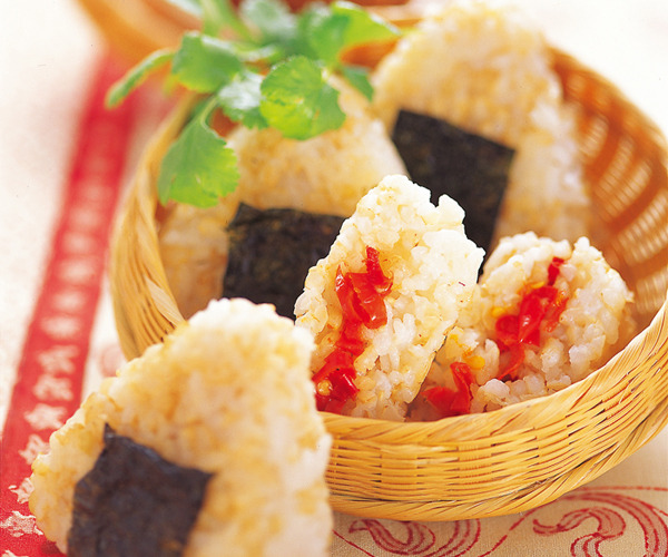 현미주먹밥