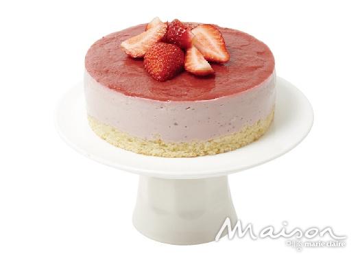 딸기 무스 케이크